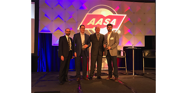 Parts Warehouse, Inc. and Tenneco Honored With First-Ever AASA Channel Excellence Award Presented By Epicor